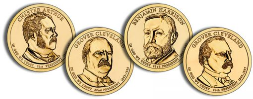 2012 Presidential $1 Coins