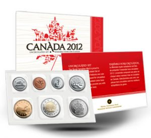 2012 UNCIRCULATED COIN SET
