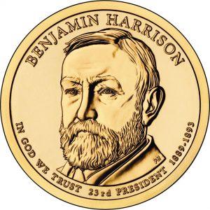 Benjamin Harrison Presidential Dollar