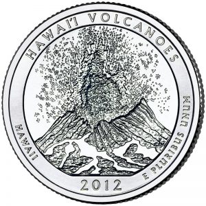Hawaii Volcanoes ATB Quarter