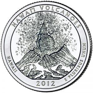 Hawaii Volcanoes ATB Quarter
