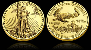 2012 American Gold Eagle Bullion Coin