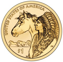 2012 Native American $1 Coin Image