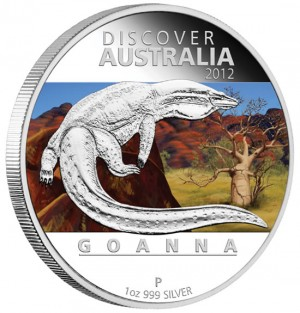 Goanna Silver Proof Coin