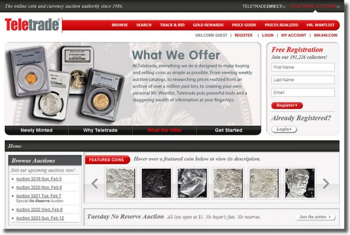 New Teletrade Website