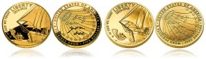 Proof and Uncirculated 2012 Star-Spangled Banner $5 Gold Coins