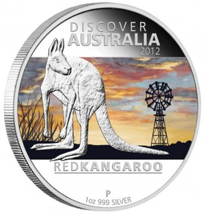 Red Kangaroo Silver Proof Coin