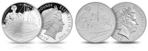 Titanic Centennial Commemorative Coins