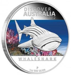Whale Shark Silver Proof Coin
