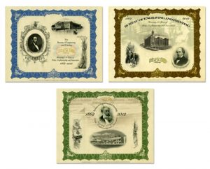 150th Anniversary Series Intaglio Prints