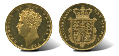 1825 George IV (1820-30), Proof Gold Sovereign