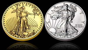 2012 American Eagle Gold and Silver Bullion Coins