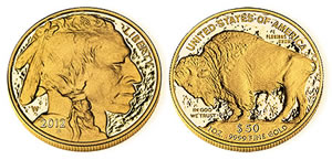 2012-W Proof Buffalo Gold Coin