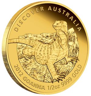 Goanna Gold Proof Coin