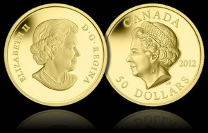 Queen Elizabeth II Ultra-High Relief Gold Proof Coin