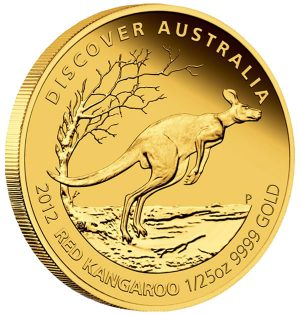 Red Kangaroo Gold Proof Coin