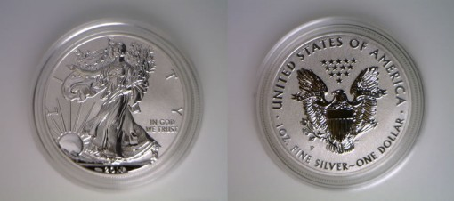 2011-P American Silver Eagle Reverse Proof Coin