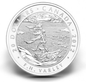 2012 $20 Stormy Weather Silver Coin