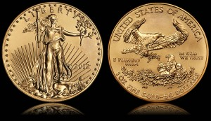 2012 $50 American Gold Eagle