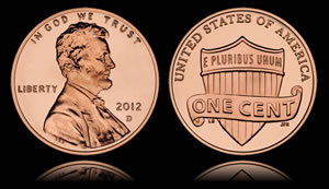 2012-D Lincoln Cent