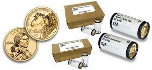 2012 Native American Dollar Coin Rolls and Boxes