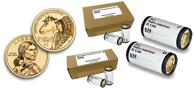 2012 Native American Dollar Coin Rolls And Boxes Available Coin News