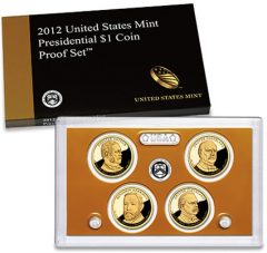 2012 Presidential Dollar Proof Set