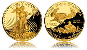 2012 Proof American Gold Eagle Coin