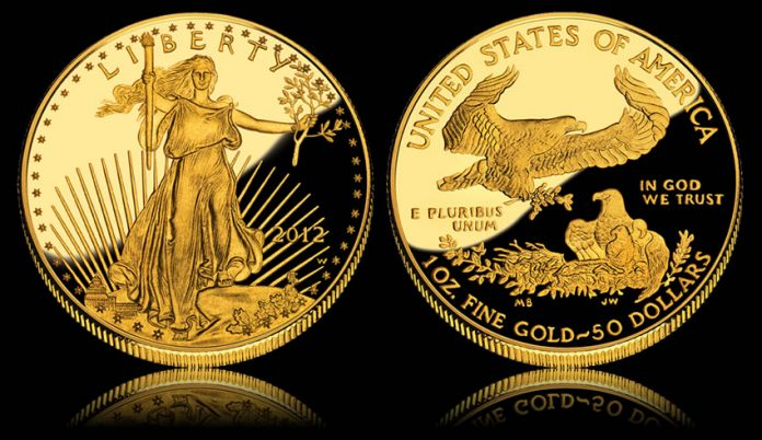 2012-W $50 Proof American Gold Eagle Coin