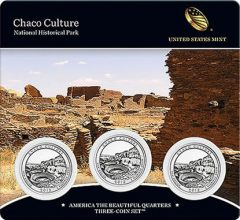 Chaco Culture Quarter Three-Coin Set