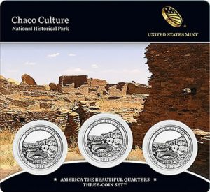 Chaco Culture Quarter Three-Coin Set