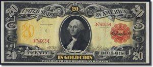 Fr. 1179 $20 1905 Gold Certificate
