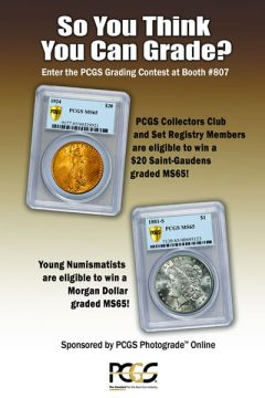 May-June 2012 Long Beach PCGS Grading Contest