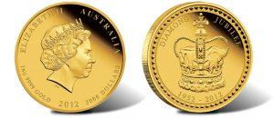 2012 Australian Diamond Jubilee Kilo Gold Coin