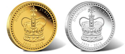 2012 Australian Diamond Jubilee Kilo Gold and Silver Coins