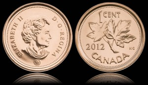 2012 Canadian Penny