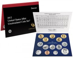 2012 US Mint Sets Sell Out