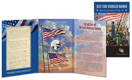 Star-Spangled Banner Bicentennial Silver Dollar Set