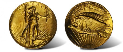 1907 Saint-Gaudens Double Eagle