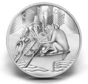 2012 $500 Spirit of Haida Gwaii Silver Coin