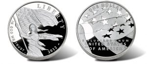 2012-P Proof Star-Spangled Banner Silver Dollar