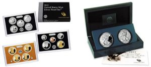 2012 Silver Proof Set and 2012 American Silver Eagle San Francisco Two-Coin Proof Set