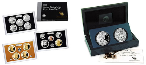 Silver Proof Set American Silver Eagle Coin Set Starts