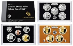 2012 US Silver Proof Set