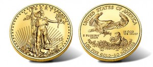 2012-W $50 Uncirculated American Gold Eagle Coin