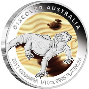 Goanna Platinum Proof Coin