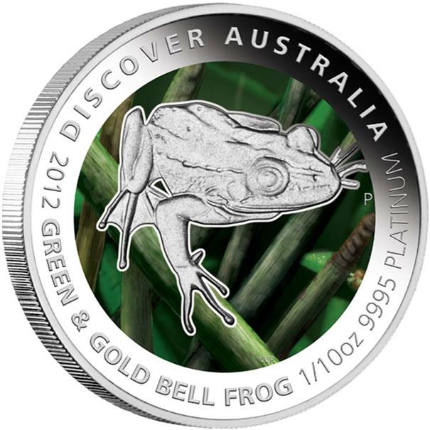 Gold Australian Platinum: 2012 Discover Australia Platinum Proof Coins Available