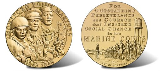 Montford Point Marines Bronze Medal