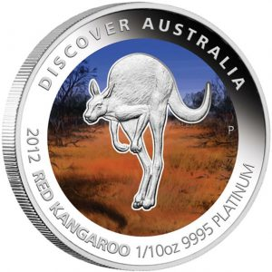 Red Kangaroo Platinum Proof Coin