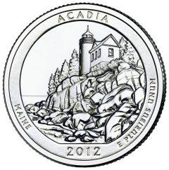 Reverse of Acadia Park Quarter